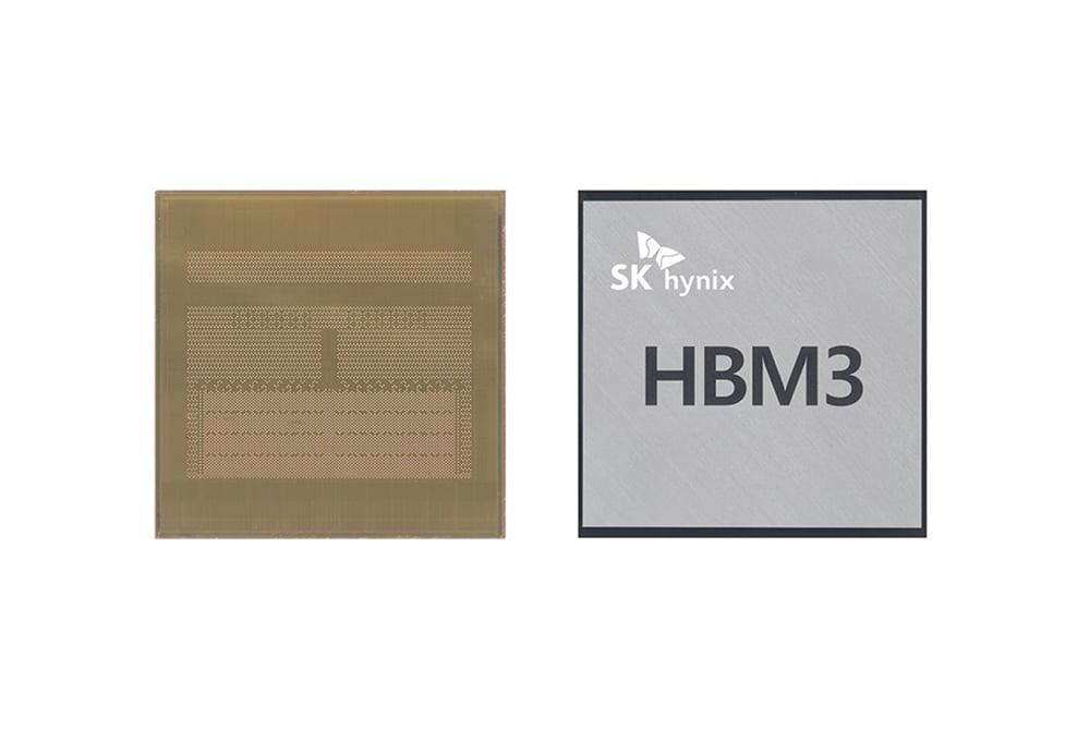 HBM3 D램
